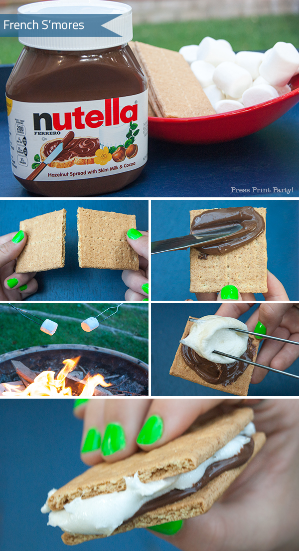 French-nutella-smores