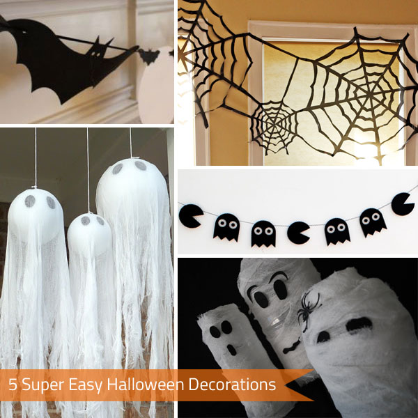 5 Super Easy Halloween Decorations Press Print Party