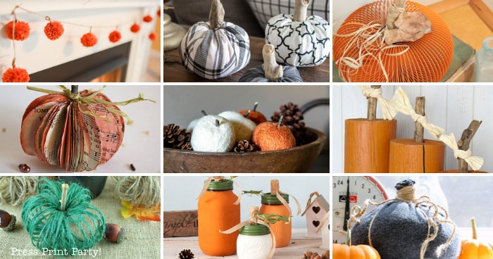 19 Easy Pumpkin Craft Ideas