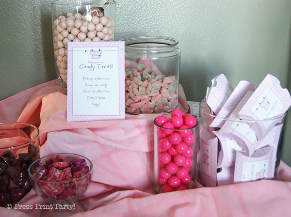 Pink Baby Shower with Printables by Press Print Party