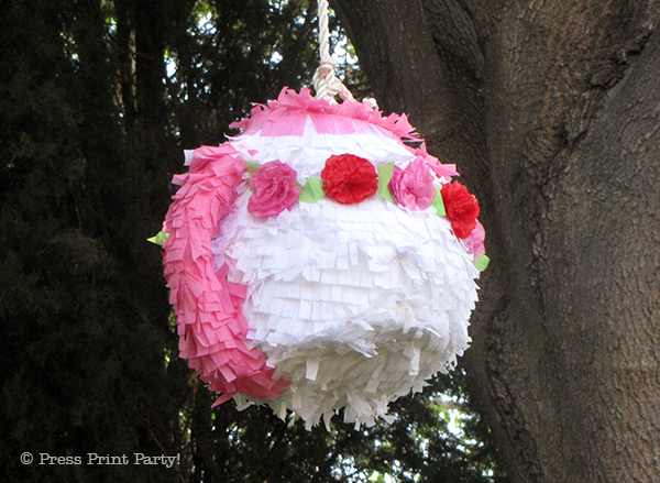 Tea Pot Pinata DIY Tutorial by Press Print Party!