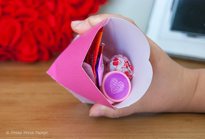 Free Valentines Heart Box Printables by Press Print Party!