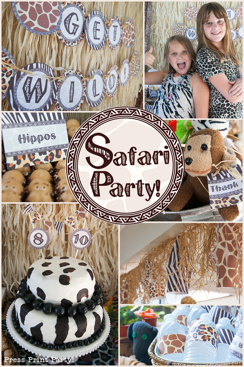 A Wild Safari Party with an African Flair!