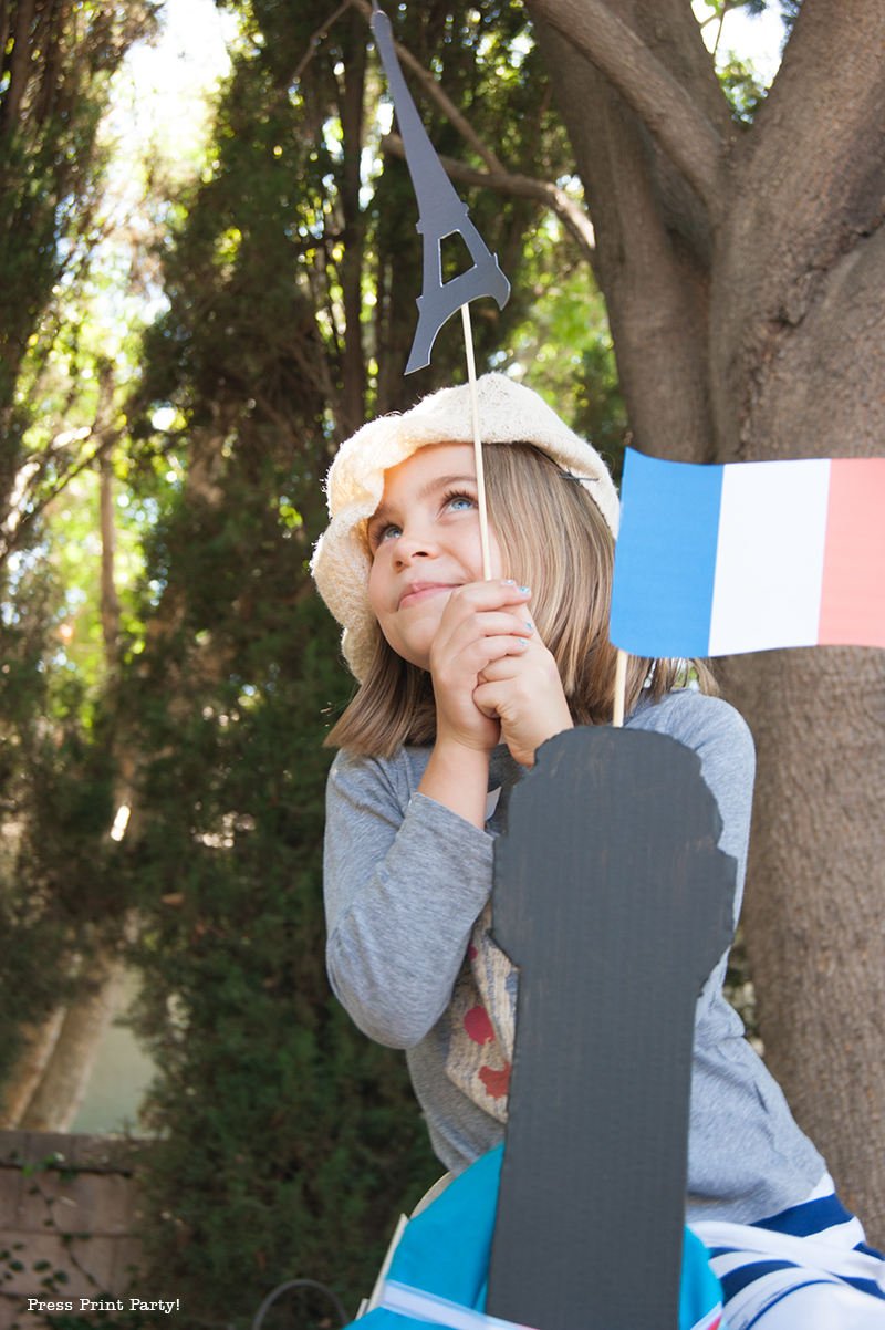 French Props - Paris Party with a French Vintage flair - Press Print Party!