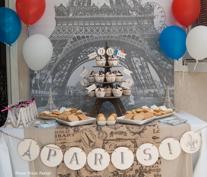 Paris Party with a French Vintage Flair