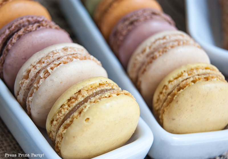 Macarons - Paris Party with a French Vintage flair - Press Print Party!