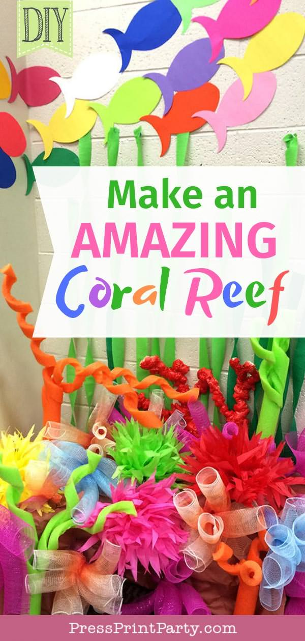 Make an amazing coral reef