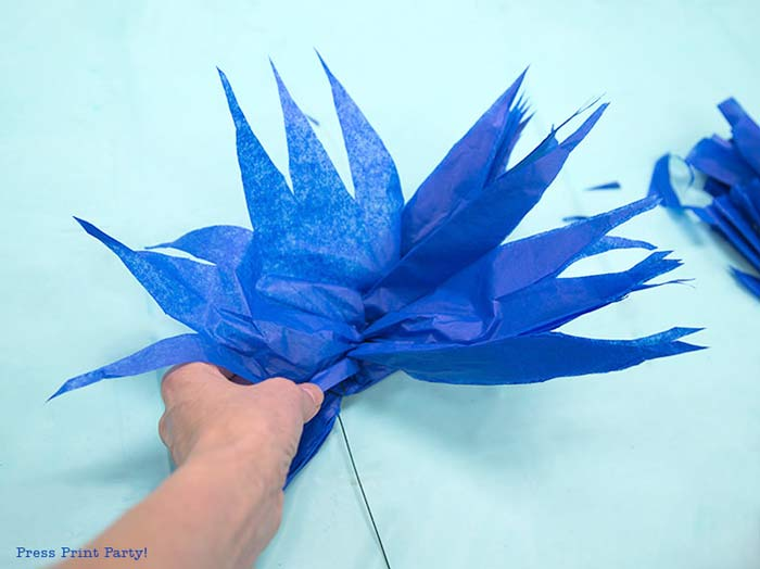 paper flower instructions