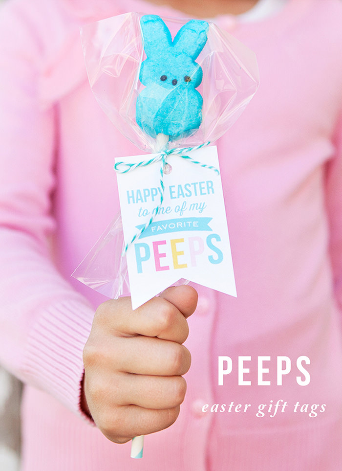 12 Clever and fun peeps ideas for Easter- Press Print Party!