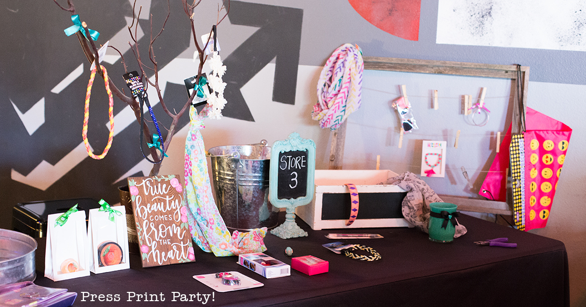 An Inspirational Mother Daughter Date She'll Treasure Forever - Beautiful Inside and Out - By Press Print Party!