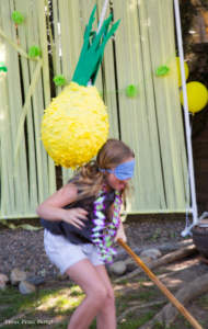 Party like a Pineapple -Pineapple party - Luau Party - Pineapple pinata - by Press Print Party!
