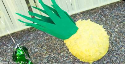 Pineapple Piñata Tutorial, the Good, the Bad and the Funny!