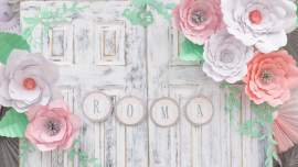 Sweet Vintage Baby Shower Decorations - By Press Print Party!