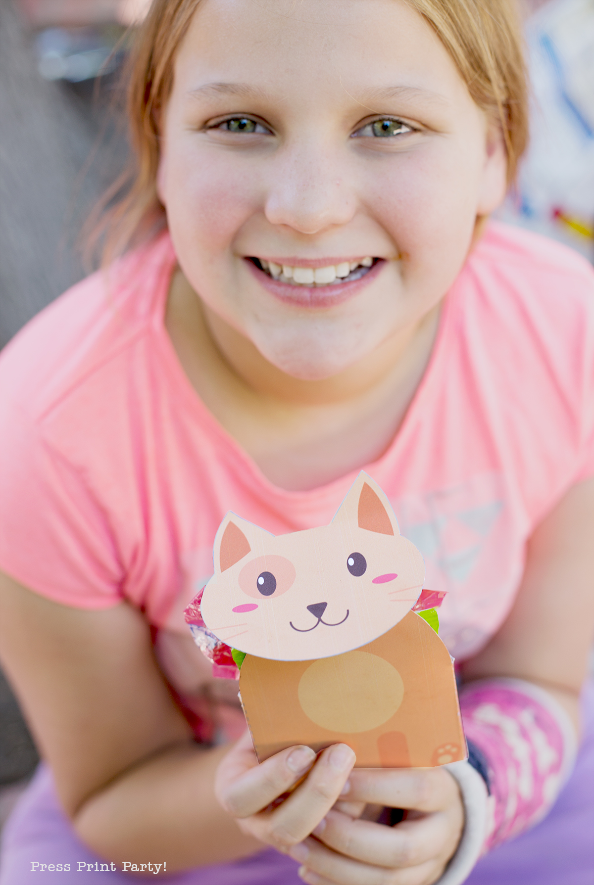 Tabby Cat Party Decorations and Printables, Kitty Party, Cat theme birthday party by Press Print Party!