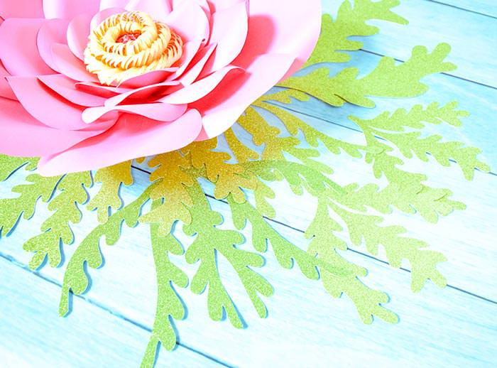seaweed cut file svg and svg paper flowers