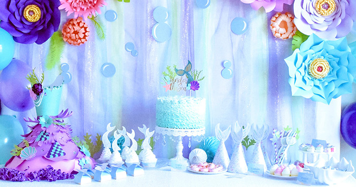 Decorate your Mermaid Party like a Pro