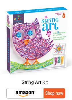 Ultimate gifts for Tweens - Gift guide for tweens - string art