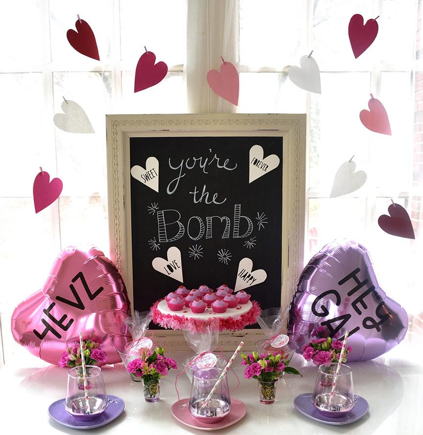 Free Valentines Day Bath Bomb Printable Tags - Press Print Party!