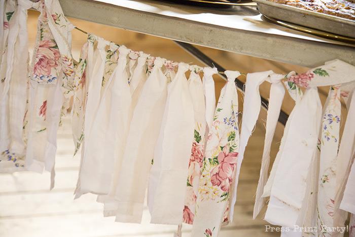 A breathtaking rustic barn wedding - country wedding - Press Print Party! fabric tassels