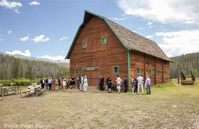 A breathtaking rustic barn wedding - country wedding - Press Print Party! barn exterior