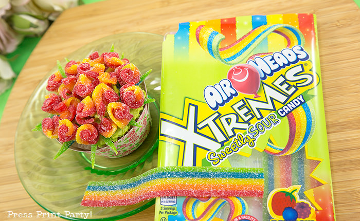 DIY Rose Bouquet Cupcakes, Spring Flower Cupcakes - By Press Print Party! - Air Head Xtremes