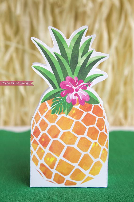 image regarding Pineapple Printable identify Pineapple Like Box Printable