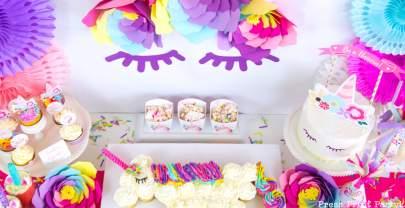 Truly Magical Unicorn Birthday Decorations DIY