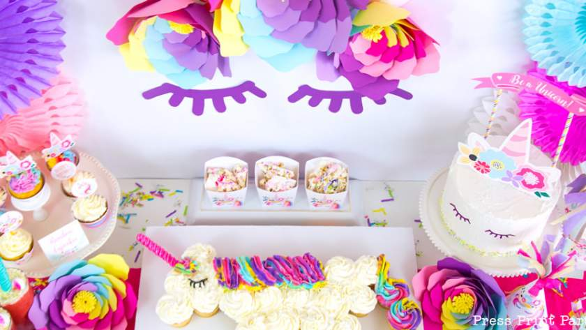 Truly Magical Unicorn Birthday Decorations DIY