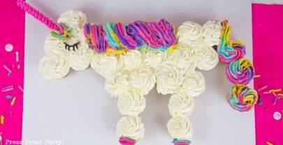 How to Make a Unicorn Cupcake Cake