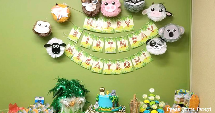 Wild Jungle Party Ideas
