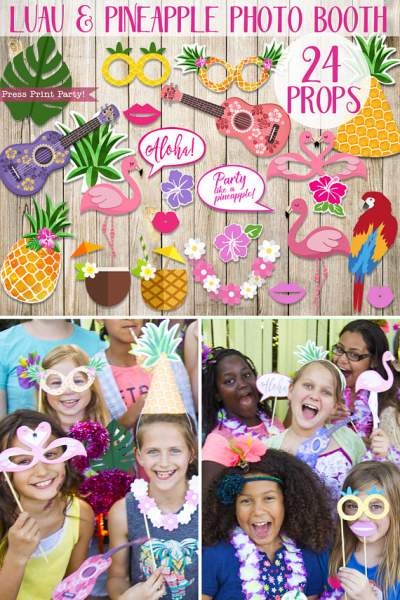 Halloween Photo Booth Props Template