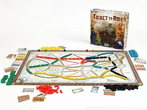 Ticke to Ride board game for family game night