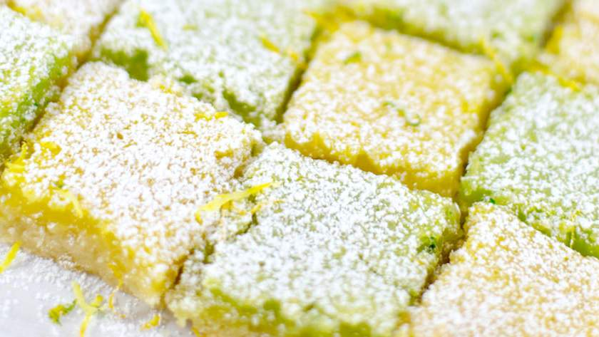 The Ultimate Lemon and Lime Bars Recipe
