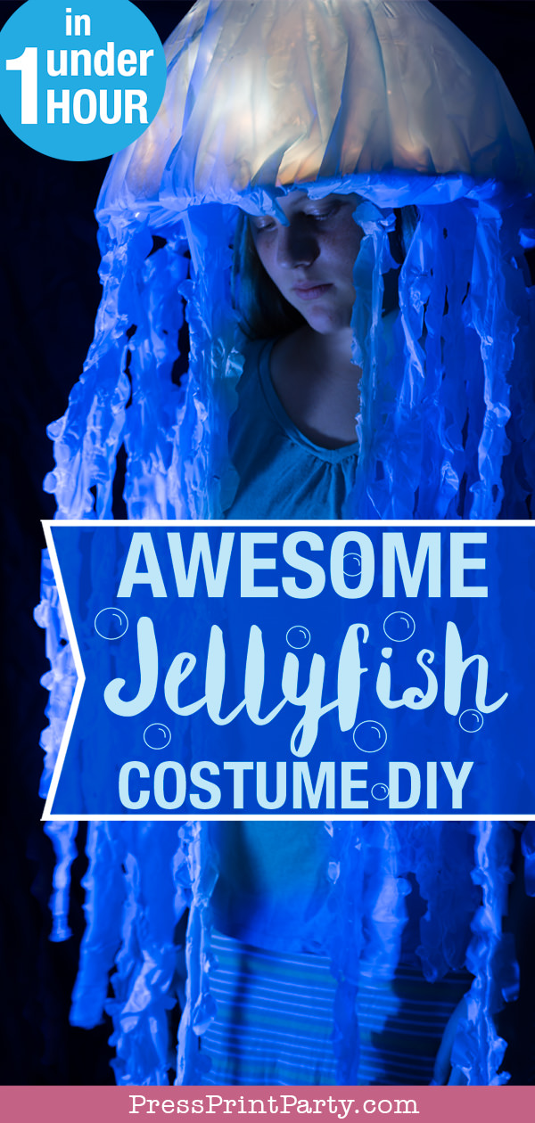 Awesome Jellyfish Costume DIY - Press Print Party!