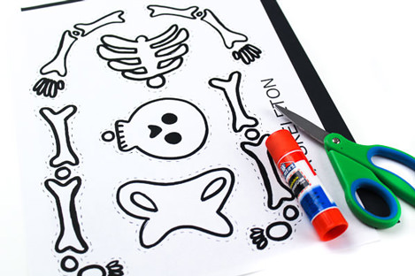 Free Halloween Printables - party crafts - List by Press Print Party!