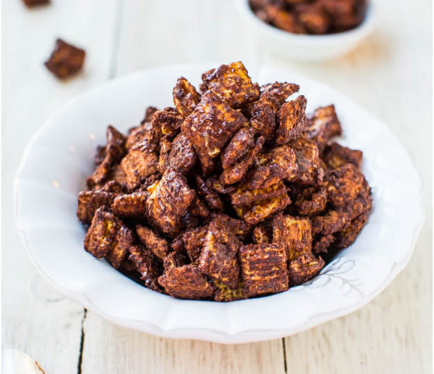 100 calories chex mix with chocolate