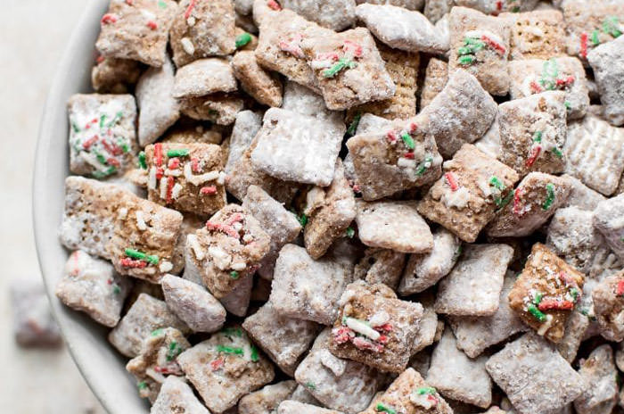 christmas puppy chow sweet chex mix recipe