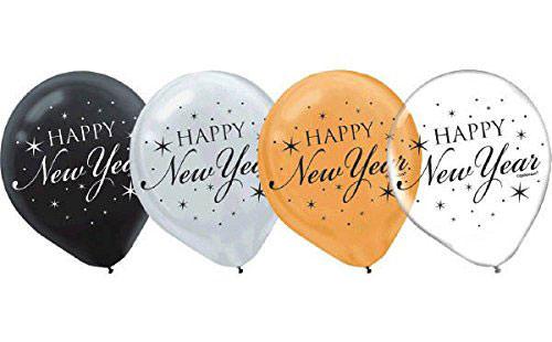 happy new years balloon