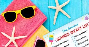 225 summer bucket list ideas. summer to do list