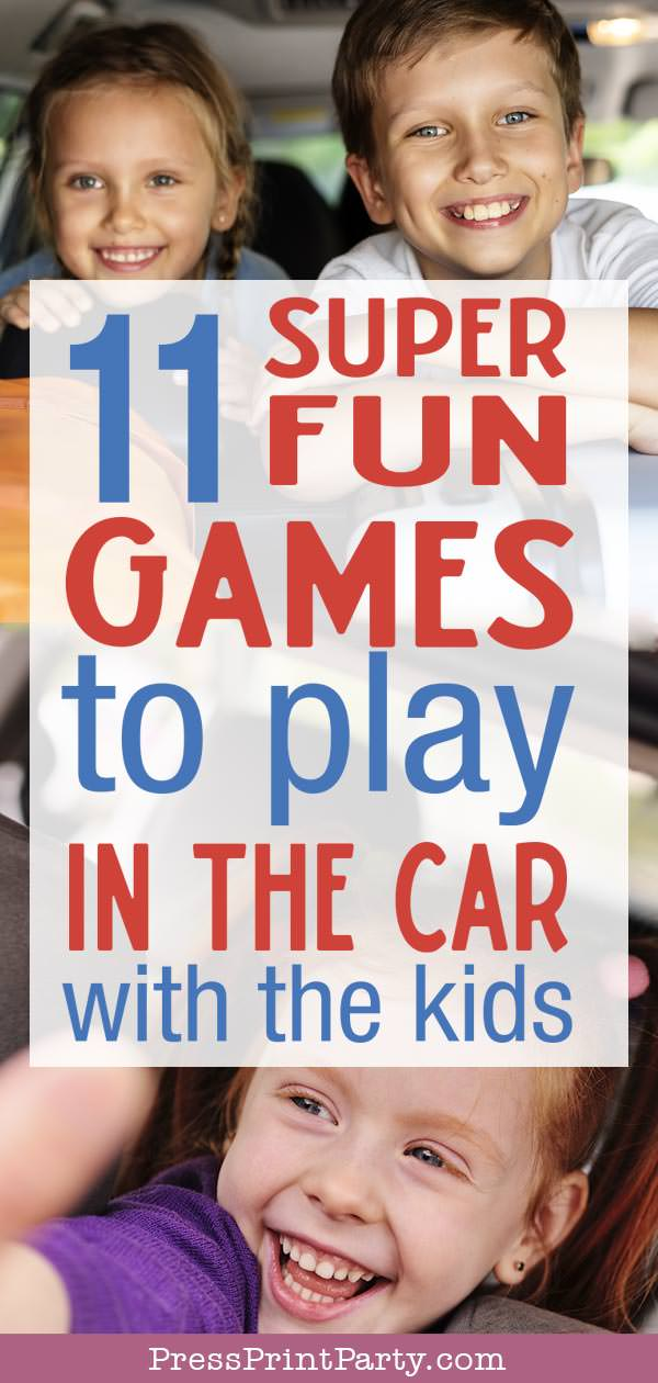 11 super fun games to play in the car with the kids