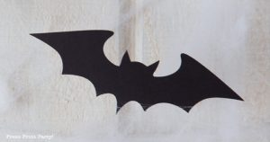 FREE SVG bat garland halloween garland - Press Print Party!
