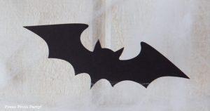 FREE SVG bat garland halloween garland - Press Print Party!