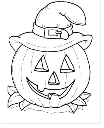 free halloween printable coloring sheets - website roundup - pumpkin coloring pages