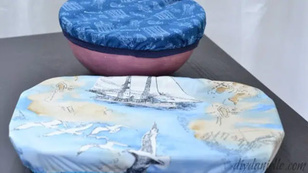 bowl covers made with fabric