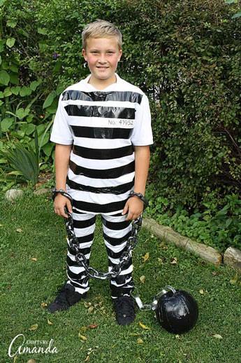 prisoner costume diy -  - Last minute Halloween diy costumes ideas
