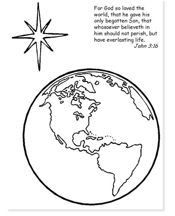 the star of bethlehem coloring page