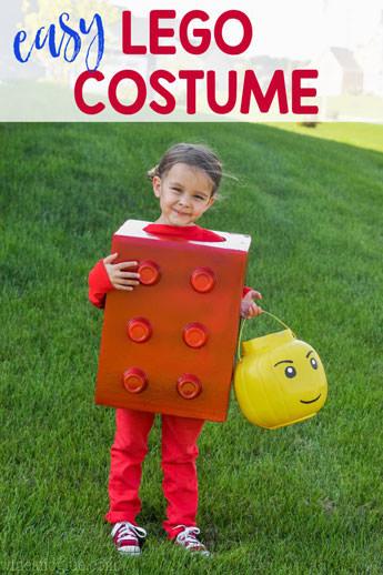 lego block costume - - Last minute Halloween diy costumes ideas