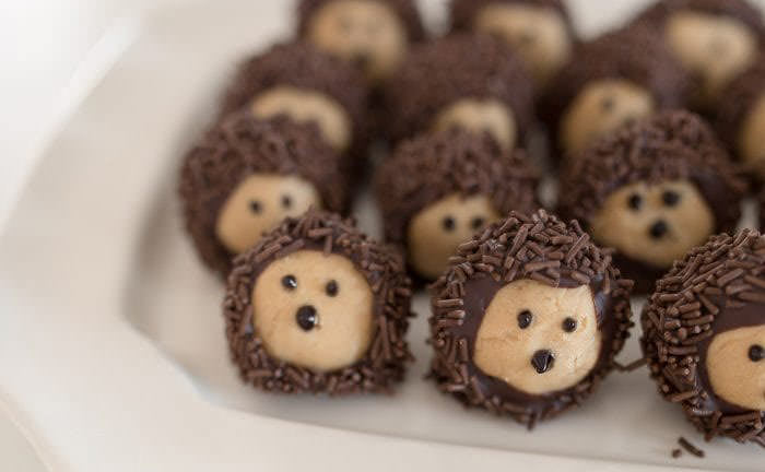 Hedghods treats - Cute desserts for thanksgiving
