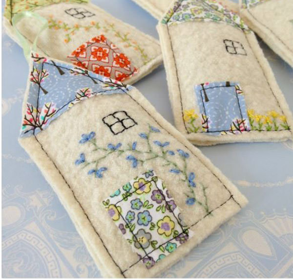 lavender bags sewing for gift for mom