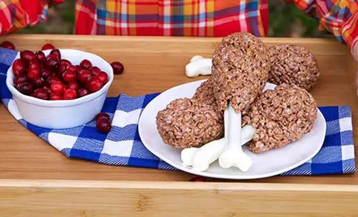 rice kristpie bones - Cute desserts for thanksgiving